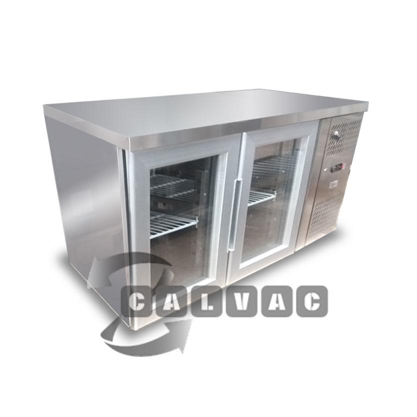 Mesones refrigerados industriales de acero inoxidable for Puertas para cocinas industriales