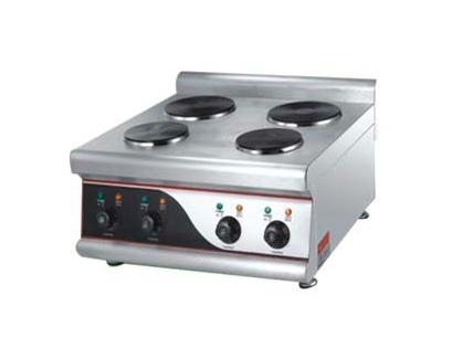 Cocinas el ctricas cocina el ctrica 4 platos sobremesa for Cocina encimera electrica