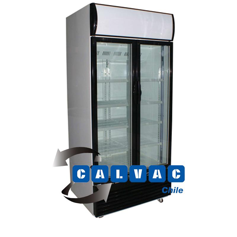 Visicooler visicoolers visi cooler 2 puertas aire for Puertas para cocinas industriales