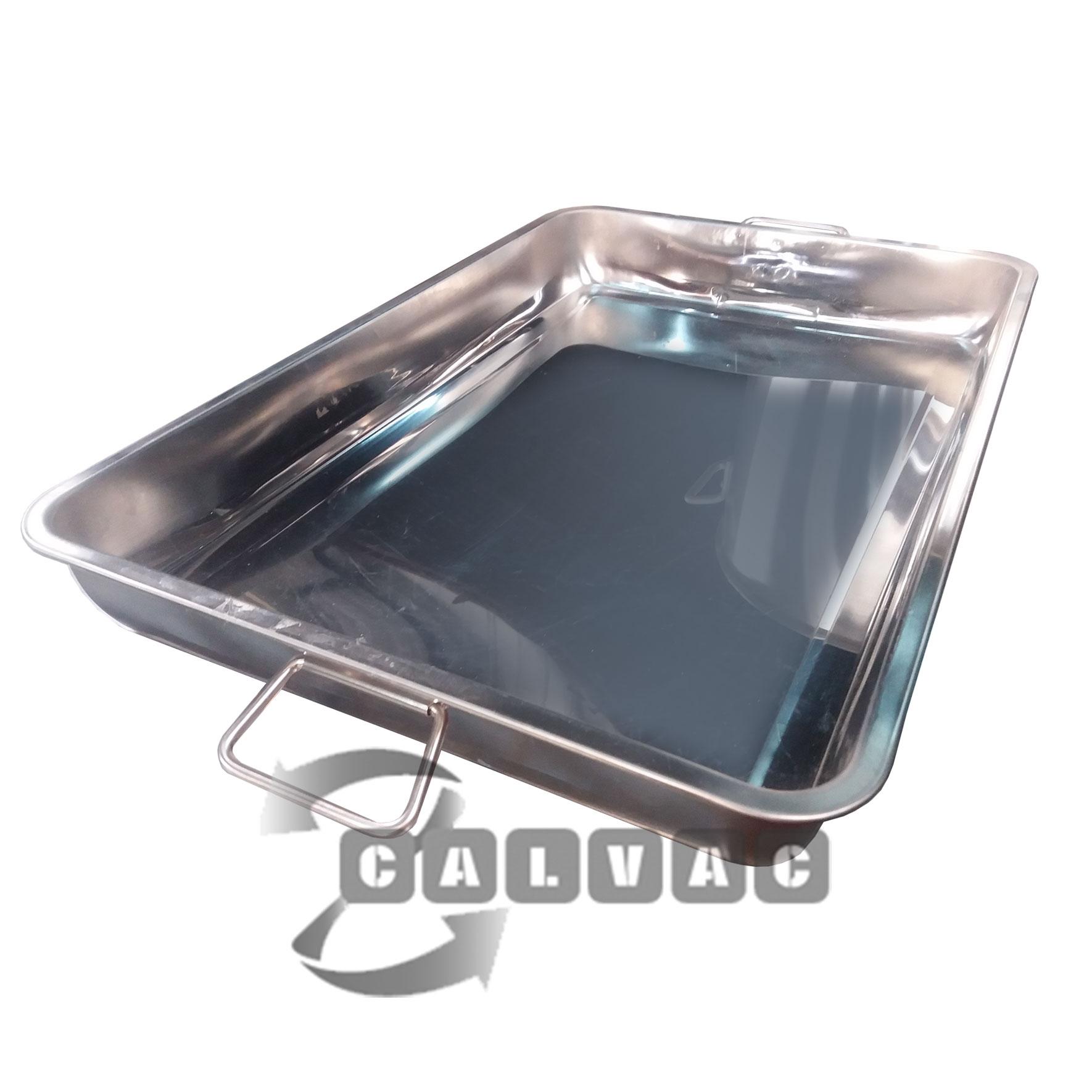 Utensilios de cocina asadera acero inoxidable calvac for Utensilios cocina acero inoxidable