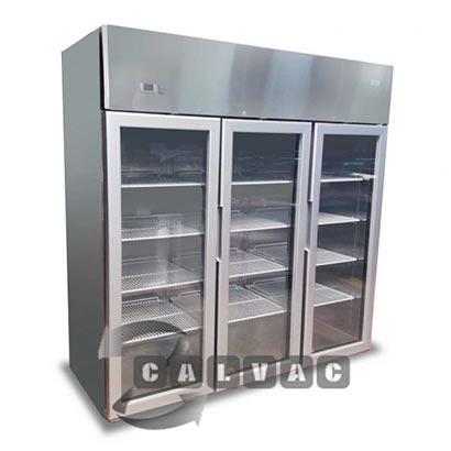 Refrigerador Industrial 3 Puertas de Vidrio